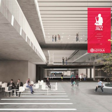 Eddea Loyola campus calle interior