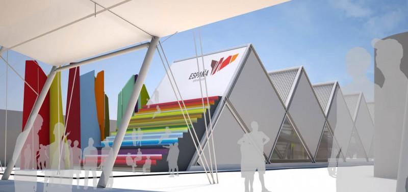 Fau Arquitectos Milan expo Escalera1