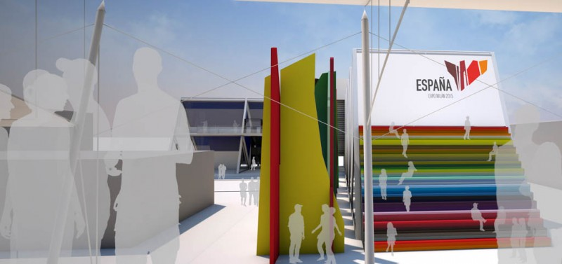 Fau Arquitectos Milan expo Escalera2