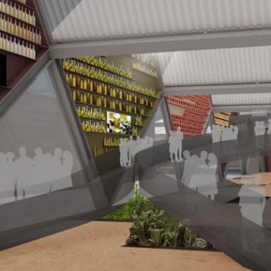 Fau Arquitectos Milan expo Interior1